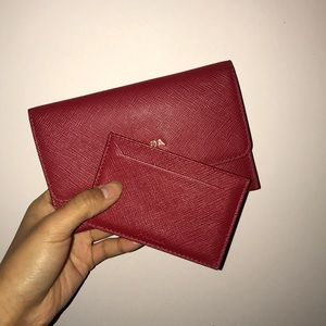 a377b1ff405c Prada Accessories - Prada Saffiano Leather Passport Holder & Card Case